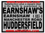 Earnshaws Huddersfield Motorcycle Dealer Decals Transfers DDQ114